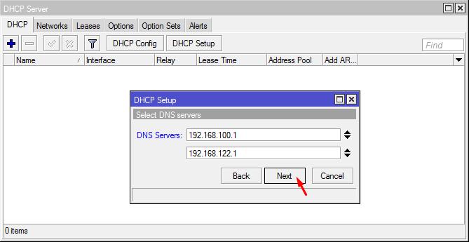 DNS Servers DHCP