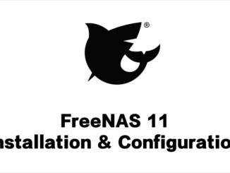 FreeNAS 11 - Thumbnail