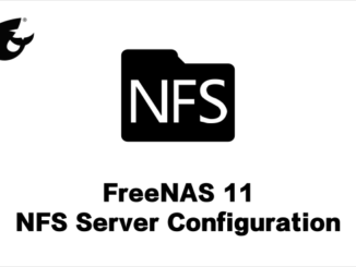 NFS-Server-FreeNAS11-LukmanLAB