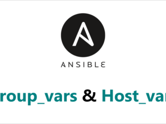 Group Vars dan Host Vars Ansible