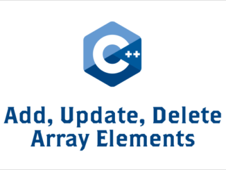 Add-Update-Delete-Array-Elements